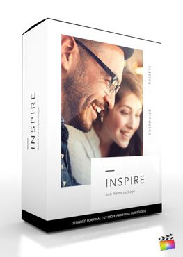 Final Cut Pro X Production Package Inspire from Pixel Film Studios