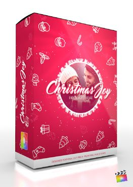 Final Cut Pro X Production Package Christmas Joy from Pixel Film Studios