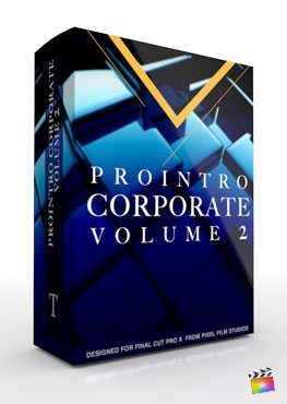 Final Cut Pro X Plugin ProIntro Corporate Volume 2 from Pixel Film Studios