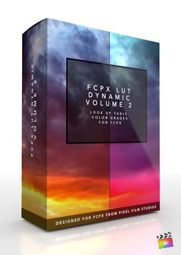 Final Cut Pro X Plugin FCPX LUT Dynamic Volume 2 from Pixel Film Studios