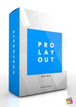 Final Cut Pro X Plugin ProLayout Corporate from pixel Film Studios