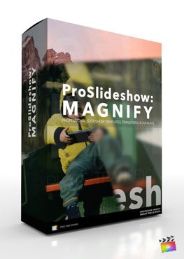 Final Cut Pro X Plugin ProSlideshow Magnify from Pixel Film Studios