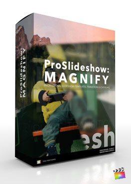 Final Cut Pro X Plugin ProSlideshow Magnify from Pixel Film Studios
