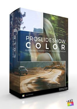 Final Cut Pro X Plugin ProSlideshow Color from Pixel Film Studios