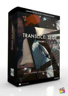 Final Cut Pro X Transition Translice Slide Volume 2 from Pixel Film Studios