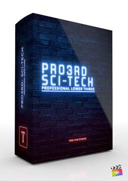 Final Cut Pro X Plugin Pro3rd SciFi Tech from Pixel Film Studios