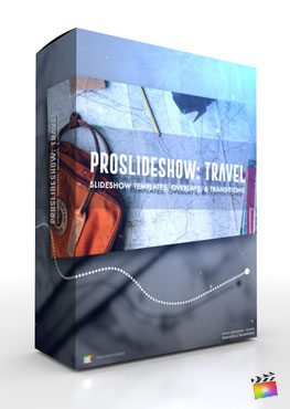 Final Cut Pro X Plugin ProSlideshow Travel from Pixel Film Studios