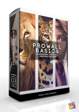 Final Cut Pro X Plugin ProWall Basics from Pixel Film Studios