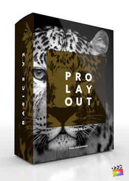 Final Cut Pro X Plugin ProLayout Basics Volume 2 from Pixel Film Studios