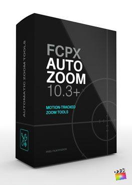 Final Cut Pro X plugin FCPX Auto Zoom from Pixel Film Studios