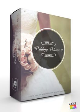Final Cut Pro X Plugin FCPX LUT Wedding Volume 2 from Pixel Film Studios