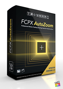 Final Cut Pro X Plugin FCPX Auto-Zoom 2.0 Pixel Film Studios