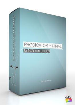 Final Cut Pro X Plugin ProDicator Minimal from Pixel Film Studios