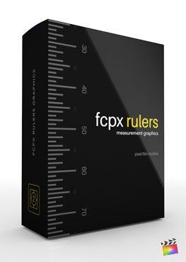Final Cut Pro X plugin FCPX Rulers from Pixel Film Studios