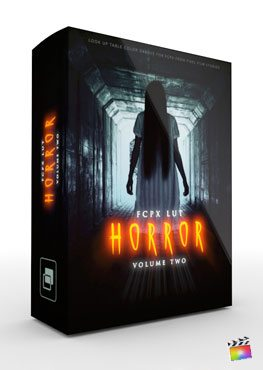 Final Cut Pro X Plugin FCPX LUT Horror Volume 2 from Pixel Film Studios