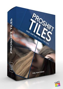 Final Cut Pro X plugin ProShift Tiles from Pixel Film Studios