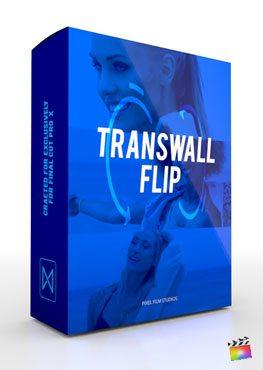 Final Cut Pro X plugin TransWall Flip from Pixel Film Studios