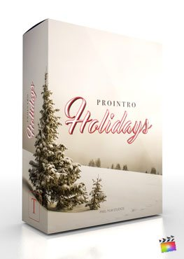 Final Cut Pro X plugin ProIntro Holidays from Pixel Film Studios