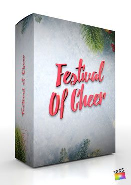 Final Cut Pro X Theme Festival Of Cheer from Pixel Film Studios