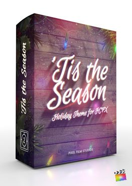Final Cut Pro X Theme 'Tis the Season from Pixel Film Studios