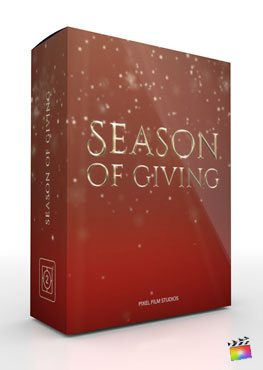 Final Cut Pro X Theme Season of Giving from Pixel Film Studios