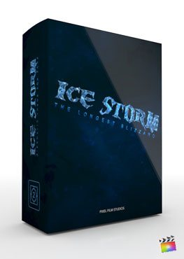 Final Cut Pro X Theme Ice Storm from Pixel Film Studios