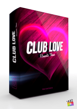Final Cut Pro X Theme Club Love from Pixel Film Studios