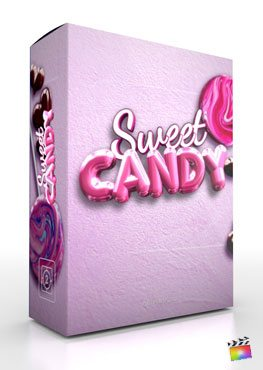 Final Cut Pro X Theme Sweet Candy from Pixel Film Studios