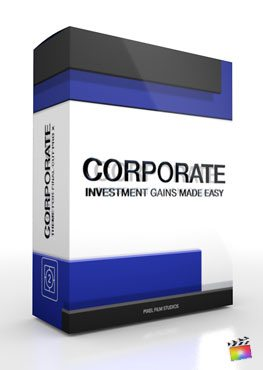 Final Cut Pro X Plugin Corporate Investment from Pixel Film Studios