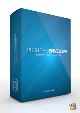 Final Cut Pro X Theme Push The Envelope from Pixel Film Studios