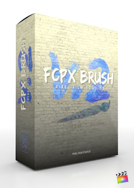 FCPX Brush V.2 - Brush Tool for Final Cut Pro X - Pixel Film Studios