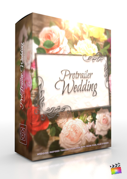 Final Cut Pro X Plugin ProTrailer Wedding from Pixel Film Studios
