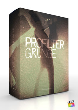 Final Cut Pro X Plugin ProFilter Grunge from Pixel Film Studios