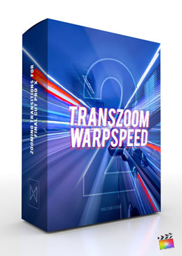 Final Cut Pro X Transition TransZoom Warpspeed 2 Pixel Film Studios