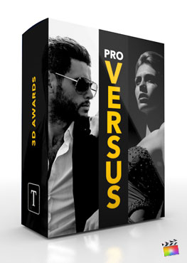 Final Cut Pro X Title ProVersus 3D Corporate from Pixel Film Studios