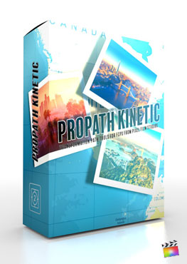 Final Cut Pro X Plugin ProPath Kinetic from Pixel Film Studios