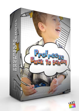Final Cut Pro X Plugin ProFreeze Back To School from Pixel Film Studios
