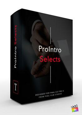 Final Cut Pro X Plugin ProIntro Selects from Pixel Film Studios
