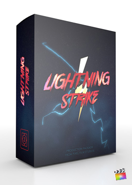Final Cut Pro X Theme Lightning Strike from Pixel Film Studios