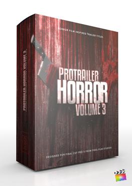 Final Cut Pro X Plugin ProTrailer Horror