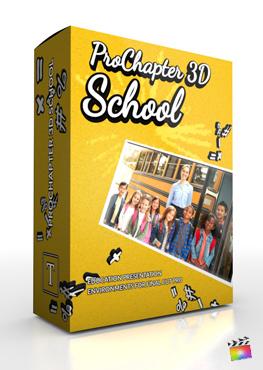 Final Cut Pro X Plugin ProChapter 3D School from Pixel Film Studios