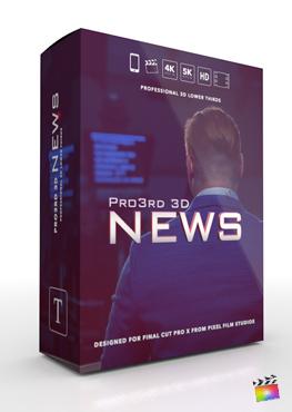 Final Cut Pro Plugin - Pro3rd 3D Gallery From Pixel Film Studios