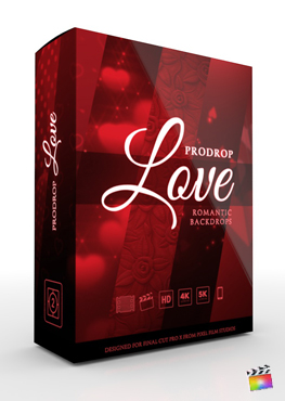ProDrop Love - Professional Backdrops for Final Cut Pro - Pixel Film Studios