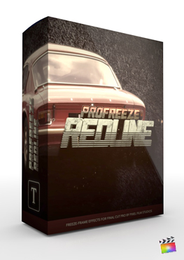 Final Cut Pro Plugin - ProFreeze Redline from Pixel Film Studios