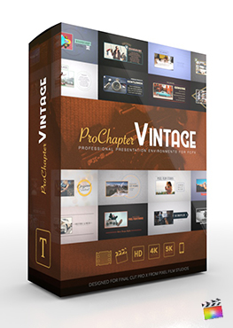 ProChapter Vintage - Professional Presentation Environments for Final Cut Pro - Pixel Film Studios