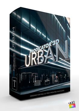 Final Cut Pro X Plugin ProDicator 3D Urban