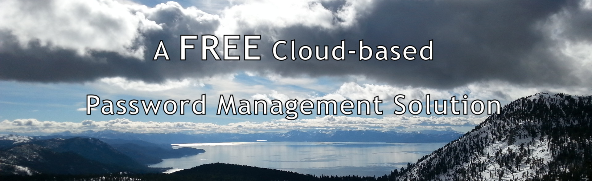 free cloud-based password manager