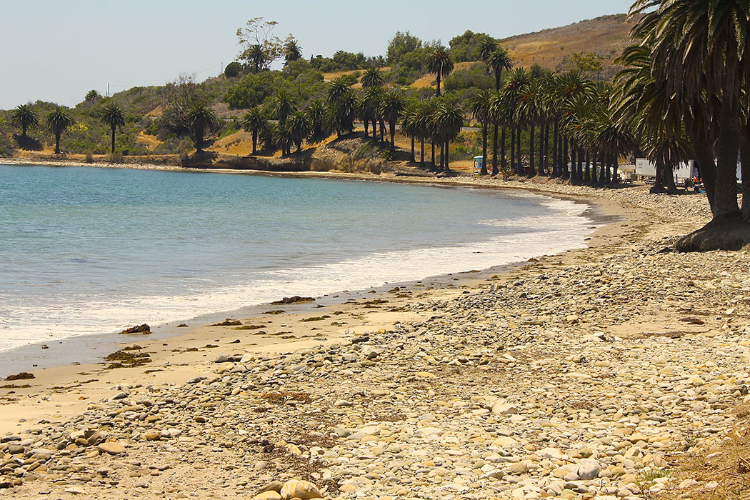 Thanks to the efforts made by SCAT teams, Refugio State Beach is making progress to being reopened to the public