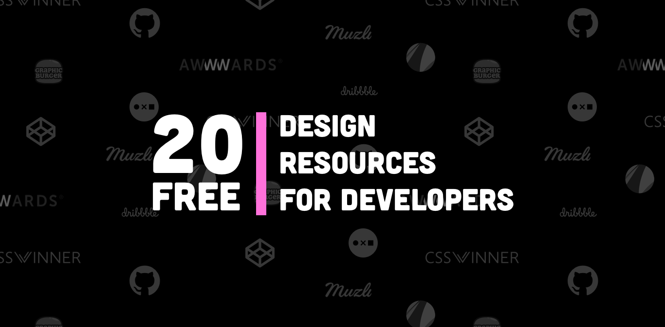 20 Free Design Resources for Developers