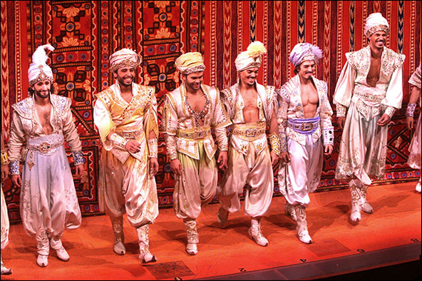 Photo Archive Disney S Aladdin Opens On Broadway Quot Purple